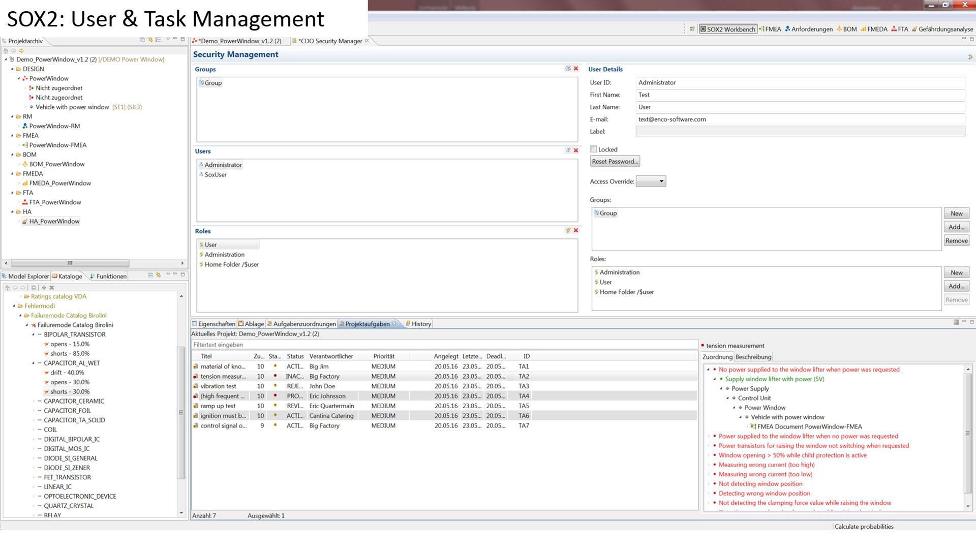 9 SOX2 User & Task Management
